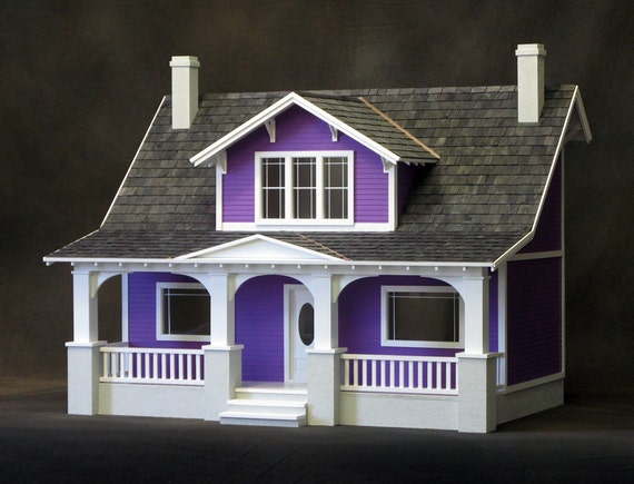 Classic bungalow real good toys diy dollhouse kit for Bungalow kit