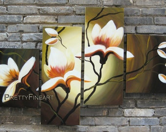 oil painting,blossom painting,modern canvs painting for home decor,framed,ready to hang,huge 140x70cm-NE215