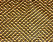 African Dutch Wax Fabric Hollandais Black Yellow 100% Cotton Sold Per Yard/African Fashion/Home Decor/Upholstery