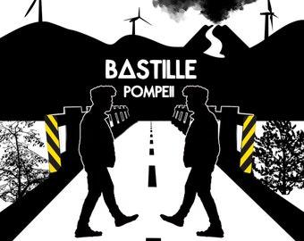 BASTILLE'S POMPEII: Graphic Design T-Shirt
