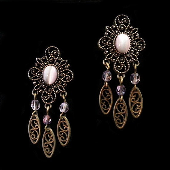 pink moonstone jewelry vintage - photo #5