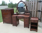Lillian Russell Bedroom Furniture : ... Piece Lillian Russell Bedroom Set in Walnut - Made in the USA on Etsy