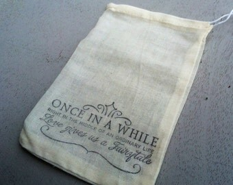10 hand stamped wedding favor bags, candy buffet bags, wedding treat bags, welcome bags, out of town bags