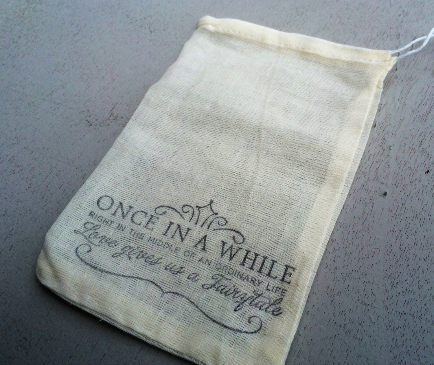 Candy Bags For Wedding: 10 Hand Stamped Wedding Favor Bags Candy Buffet Bags Wedding