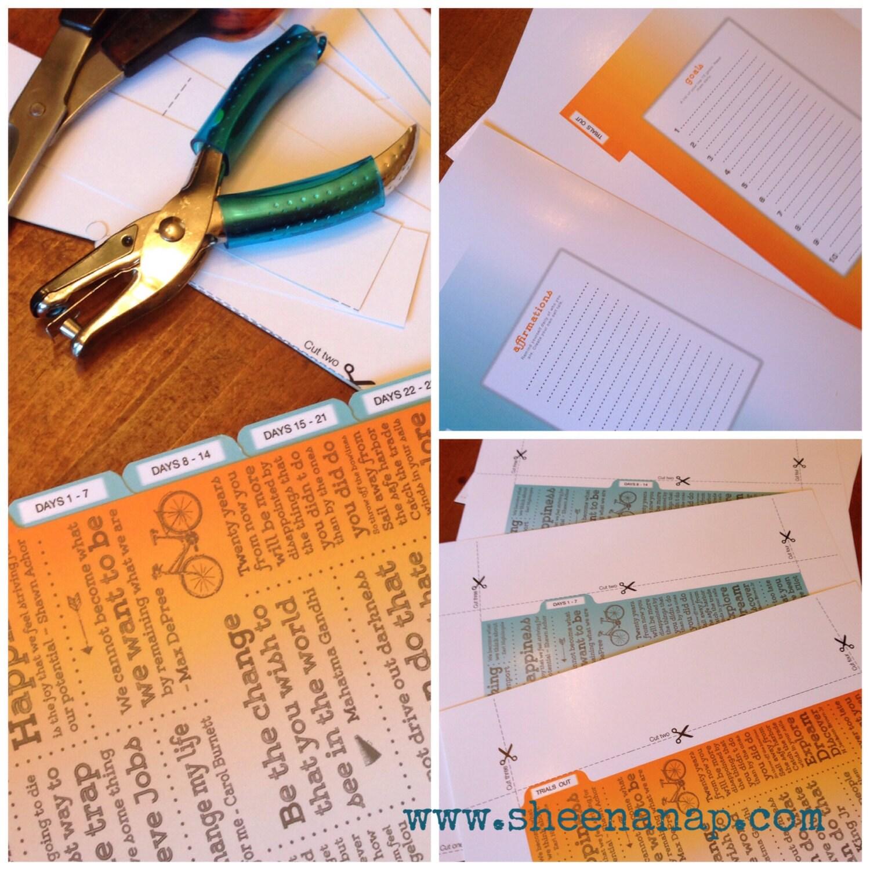 Printable Follow-up Tabs For Mini Binder By PrintablesBySheena