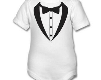 Dinner Suit  - funny Baby onsie,babygrow