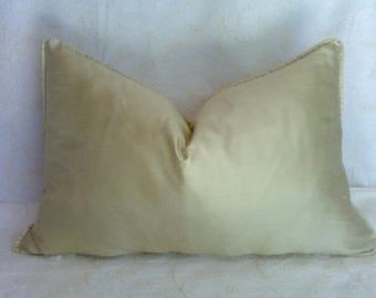 soft green silk pillow cover