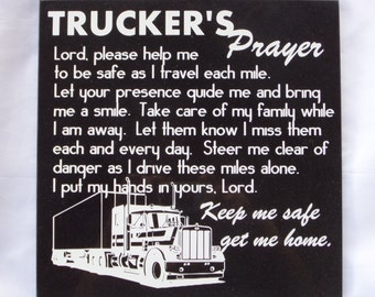 Christmas Cards By Helen Adkins - Trucker's Prayer - 10 Pack | www ...