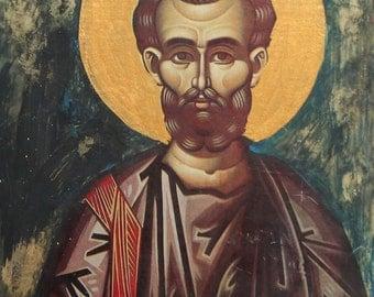 Orthodox print / wood icon Saint Bartholomew