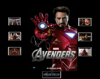 Avengers Film Cell Presentation : Iron Man
