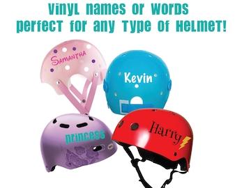 Helmet Sticker Etsy - Custom vinyl motorcycle helmet decals