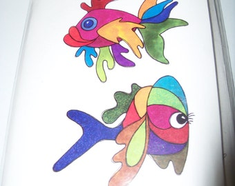 Loralie Art Stamps New Fishes