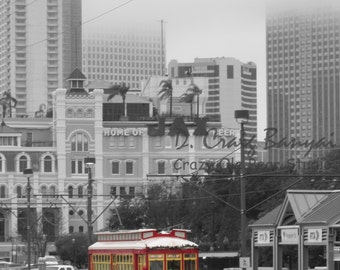 """Title: The Trolley in New Orleans (18""""X12"""" Poster)"""