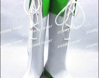 Vocaloid Gumi Megpoid Custom Made Cosplay Boots/Shoes