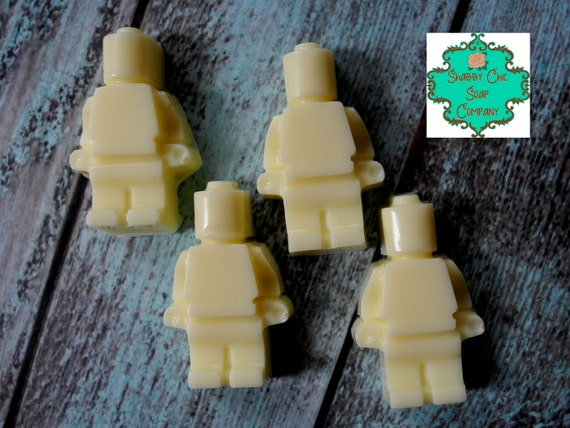 Lego Men Inspired soap bars - set of 8