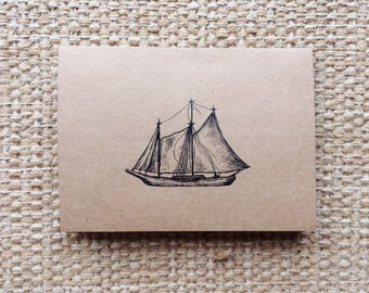 Handmade Card Set | Sail Away With Me