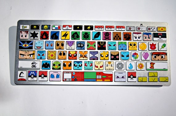 Pokemon keyboard decal (for Apple Macs)