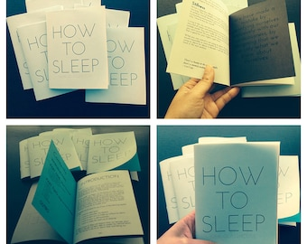 How To Sleep (zine)