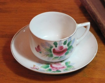 Vintage Occupied Japan Teacup and Saucer