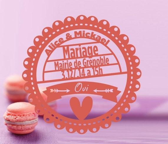 faire part mariage dcoupe laser - Etsy Faire Part Mariage