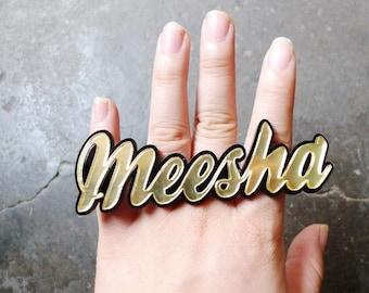 Nameplate Ring