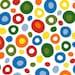 Dr. Seuss Primary Wonky Dots Minky Fabric from Shannon Fabrics and Robert Kaufman Fabrics