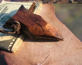 Carved Wood Money Clip, Arrowhead Money Clip, Wood Money Clip,  Money clip, Money Clip