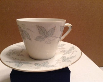 On Sale **  Vintage Seltmann Weiden Bavaria  Porcelain Cup  and Saucer ~ Monika pattern ~ Made in Germany
