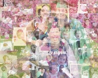 Family Photo Mosaic