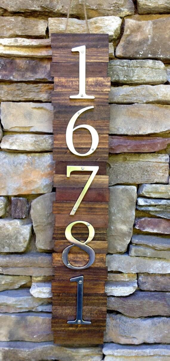 items similar to decorative house number plaque 5 39 s. Black Bedroom Furniture Sets. Home Design Ideas