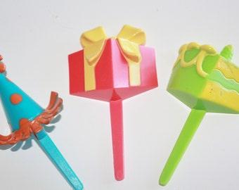 Birthday Party Cupcake Picks