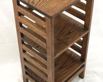 Square Oak End Table