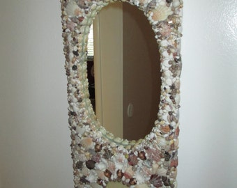 Long Seashell mirror