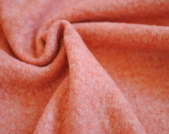 Japanese Fabric Fluffy Knit Fabric Apricot