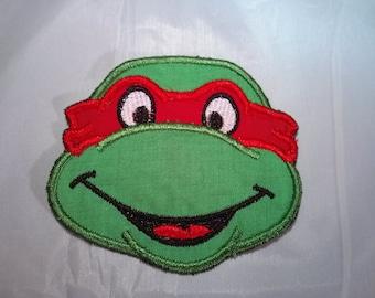 Ninja Turtle Applique Iron On Patch