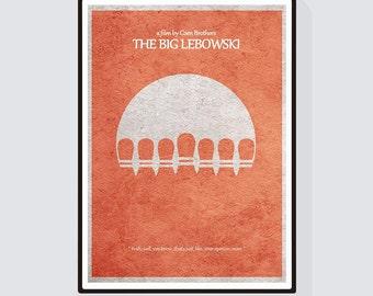The Big Lebowski Minimalist Alternative Movie Print & Poster