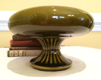 Roseville Floraline Classic Pedestal Bowl 430
