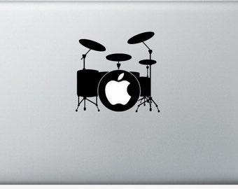 Stickers Macbook 11-3-15-17 inches - Drum
