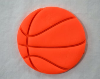 Basketball Cookie Cutter - SHARP EDGES - FAST Shipping - Choose Your Own Size!