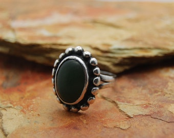 Old Vintage Pawn Green Turquoise Ring