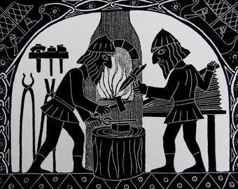 Forging Sigurd's Sword