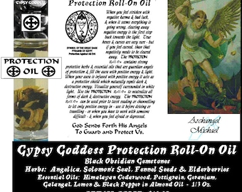 PROTECTION Roll-On Oil by Gypsy Goddess