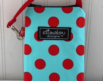 Aqua Dots Padded Gadget, iPhone, iPhone 5, iPod, iPhone, cellphone, camera