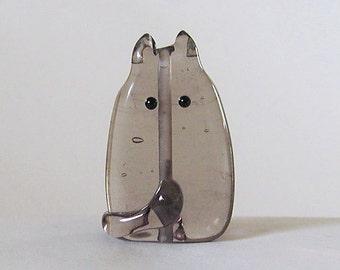 Cat Bead Handmade Lampwork Focal - Randolph FatCat