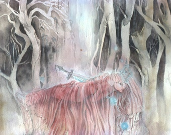 Ascent - Faerie / Magical / Fantasy Art Print