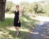 The black sheet dress