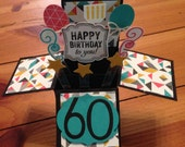 Pop-Up Box Birthday Card