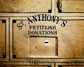ST. ANTHONY'S Petitions and Donations, Patron Saint of Lost Things, Catholic Magic, Irish Miracle Gift, Religious Superstition, Old IRELAND