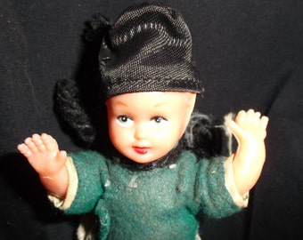 Vintage Foreign Doll