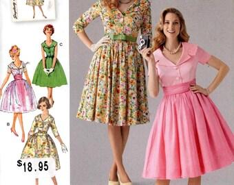 50s Dress Pattern Etsy